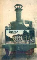 Luxembourg - Diekirch - Palais De Justice - Belle Motrice Ferroviaire - Trompe L'œil Sur Locomotive - Diekirch