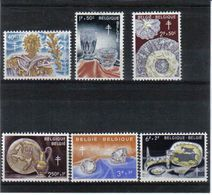 1163/1168 AMBACHTEN POSTFRIS** 1960 - Belgique