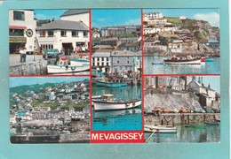 Small Multi View Post Card Of Mevagissey,Cornwall,K84. - England
