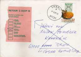 Macedonia  Letter Via Czech Republic 1999 - RETOUR - Nice Stamps - Macédoine