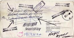 Macedonia Letter Via Turkey 1990 - RETOUR - Macédoine