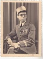 PHOTO FORMAT 12 X 17 JEUNE OFFICIER PRIS EN PHOTO  STUDIO GIRIBALDI  A TOULON - Anonymous Persons