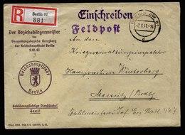 A6014) DR R-Feldpostbrief Berlin 02.08.41 N. Meseritz - Briefe U. Dokumente