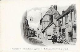 Courtenay (Loiret) - Vieille Maison Appartenant à M. Rougeaux (ancienne Synagogue) - Carte Dos Simple Non Circulée - Courtenay