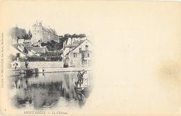 Montargis (Loiret) - Le Château, Barque - Edition Vve Begault - Carte Dos Simple Non Circulée - Montargis