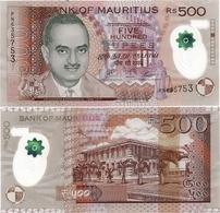 MAURITIUS       500 Rupees       P-66[c]       2017       UNC - Maurice