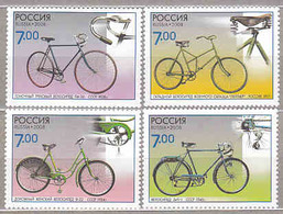 Russia 2008 History Of Bicycle.MNH - Unused Stamps