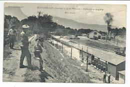 MONTMELIAN (73) Quai Militaire - Halte-repos Anglaise - Gare - Montmelian