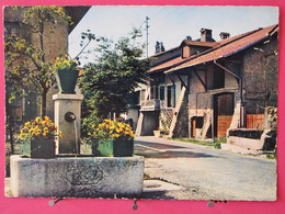 Suisse - Hermance - Fontaine Bartholoni - Canton De Genève - 1965 - Scans Recto-verso - GE Geneva