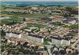 CPSM   VIERZON 18  Vue Aérienne.Cité Du Bourg D'Oiseau - Vierzon