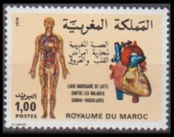 1980Morocco930MEDICINE 0,80 € - Marocco (1956-...)