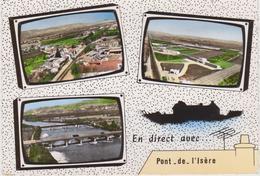 CPSM   PONT DE L'ISERE 26 - Autres Communes