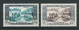 LAOS 1953 . N°s 23 Et 24 . Neufs ** (MNH) - Laos