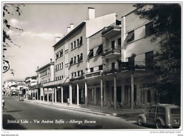 JESOLO  LIDO (VE):  VIA  ANDREA  BAFILE  -  ALBERGO  RIVIERA  -  FOTO  -  PER  LA  FRANCIA  -  FG - Alberghi & Ristoranti