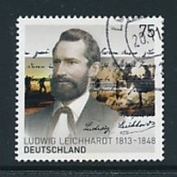 GERMANY Mi.Nr. 3032 200. Geburtstag Von Ludwig Leichhardt  - Used - BRD