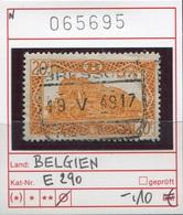 Belgien - Belgique -  Belgium - Belgie - Michel Eisenbahn E290 - Oo Oblit. Used Gebruikt - 1942-1951