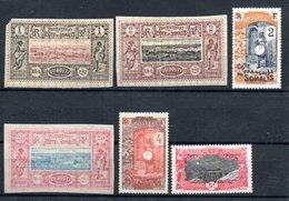 Côte Française Des Somalis Franz. Somaliküste Y&T 6*, 7*, 12* (kl. Einriss) 84*, 85*, 99* - Französich-Somaliküste (1894-1967)