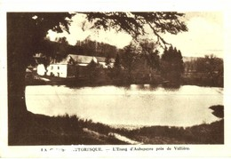 CPA N°25007 - LA CREUSE PITTORESQUE - L' ETANG D' AUBEPEYRE PRES DE VALLIERE - France