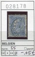 Belgien - Belgique -  Belgium - Belgie - Michel 55 - Oo Oblit. Used Gebruikt - 1893-1900 Schmaler Bart