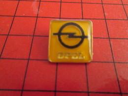 211c Pin's Pins /  Belle Qualité Et Rare / THEME AUTOMOBILES : LOGO DE LA MARQUE OPEL - Opel