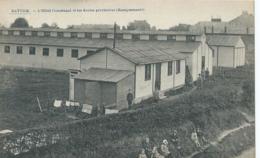 Battice - L'Hôtel Communal Et Les Ecoles Provisoires (Baraquements) - E. Desaix - Herve