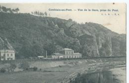 Comblain-au-Pont - Vue De La Gare, Prise Du Pont - L.L.B. - No 8 - 1906 - Comblain-au-Pont