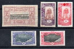Côte Française Des Somalis Franz. Somaliküste Y&T 7*, 96*, 98*, 99**, 100** - Französich-Somaliküste (1894-1967)