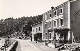 SAINT SAUVEUR LA SAGNE-hotel De La Gare-cp Glacée - France
