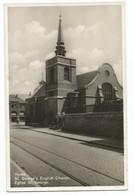 Ieper Tramway Foto Kaart Eglise Saint George Ypres - Ieper