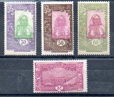 Côte Française Des Somalis Franz. Somaliküste Y&T 125*, 127**, 128*, 136* - Französich-Somaliküste (1894-1967)
