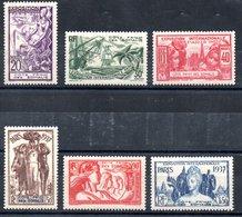 Côte Française Des Somalis Franz. Somaliküste Y&T 143** - 148** - Französich-Somaliküste (1894-1967)