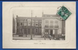CROIX    La Mairie   Animées   écrite En 1912 - Other Municipalities