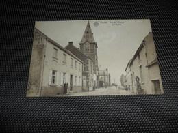 Lasne  Rue Du Village Et L' église - Lasne