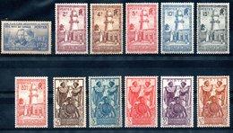 Côte Française Des Somalis Franz. Somaliküste Y&T 147*, 148**, 149* - 152*, 153(*), 154**, 155(*), 156(*), 158* - 160* - Französich-Somaliküste (1894-1967)