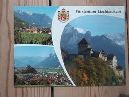 Fürstentum Liechtenstein, Château De Vaduz Balzers Mit Schloss Gutenberg - Liechtenstein