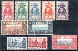 Côte Française Des Somalis Franz. Somaliküste Y&T 162* - 170*, 171** - Französich-Somaliküste (1894-1967)