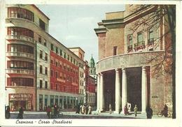 """Cremona (Lombardia) Corso Stradivari E Palazzo """"Upim"""" E Galleria XXV Aprile, Animata, Stradivari Avenue - Cremona"""