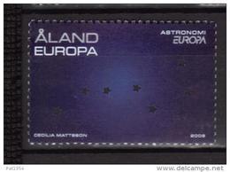 Aland 2009 N°310 Neuf Europa Astronomie - Aland