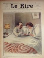 "REVUE ""LE RIRE""-1910-404-Dessin GUILLAUME FABIANO ROUBILLE METIVET,HEMARD - Books, Magazines, Comics"