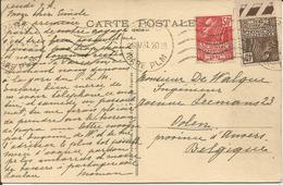 1931- 271 + 272 Oblitérés (o) Sur Carte : PARIS - France