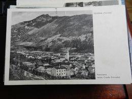 19822) TREVISO TOVENA PANORAMA VERSO CRODA PRAVADOF VIAGGIATA 1939 - Treviso