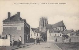 AIRE SUR LA LYS - Entré De La Ville - Route D'Isbergues - Aire Sur La Lys