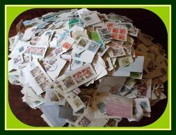 1,556 KILO Timbres Italie Italy / Frag (petits Formats Et Série Châteaux) Kiloware Castles - Stamps