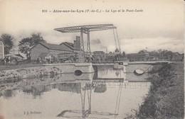 AIRE SUR LA LYS - La Lys Et Le Pont-Levis - Aire Sur La Lys