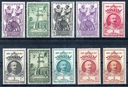 Côte Française Des Somalis Franz. Somaliküste Y&T 149**, 178* - 185*, 187** - Französich-Somaliküste (1894-1967)