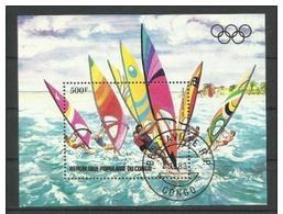 Congo  (Peoples Republic) - 1983 Olympics S/sheet CTO  Sc C309 - Used