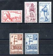 Côte Française Des Somalis Franz. Somaliküste Y&T 188*, 189*, 190** - 192** - Französich-Somaliküste (1894-1967)