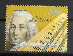 MACEDONIA 2019,The 275th Anniversary Of The Death Of Anders Celsius,,MNH - Macédoine