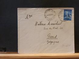 79/666A  LETTRE ROUMANA  1936 POUR LA BELG. - 1918-1948 Ferdinand, Carol II. & Mihai I.