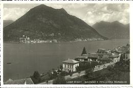 Lago D'Iseo (Brescia) Scorcio Panoramico Di Sulzano E Peschiera Maraglio, Panoramic View - Brescia